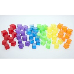 Translucent cube set