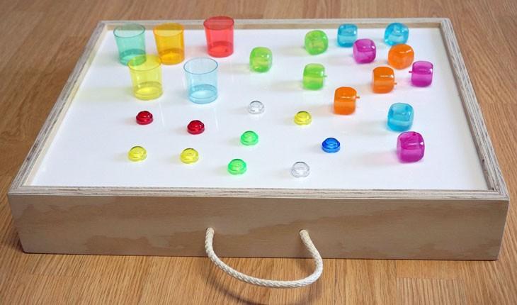Cajas De Luz Montessori Para Niños 20 Desc Ideasdeluz