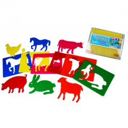 Templates for farm animals
