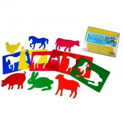Templates for farm animals